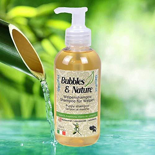 Bubbles & Nature - Champú para cachorros para los más pequeños