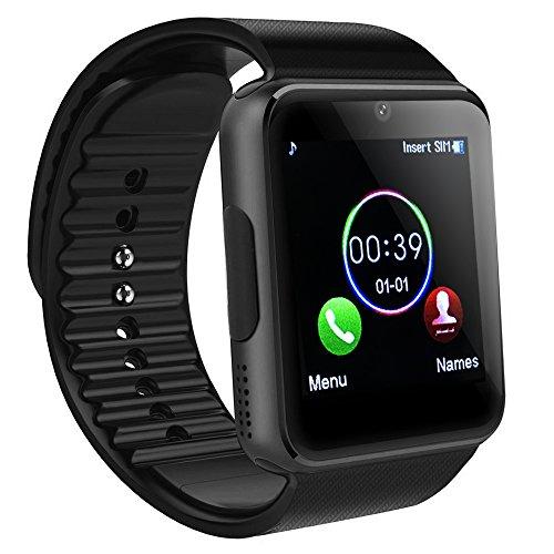 Reloj inteligente Bluetooth, SAINKO Smartwatch Smart reloj de pulsera Fitness Tracker (GT08)