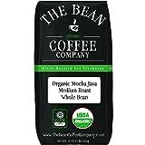 The Bean Coffee Company Organic Mocha Java, Medium Roast, Whole Bean, 16-Ounce Bag