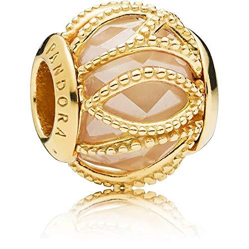 Pandora 761968CCZ Golden Intertwining Charm