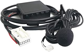 Bluetooth AUX Adapter mit Mikrofon für Volkswagen RCD210 RCD300+ RCD310 RCD510 RSN300 RNS 310