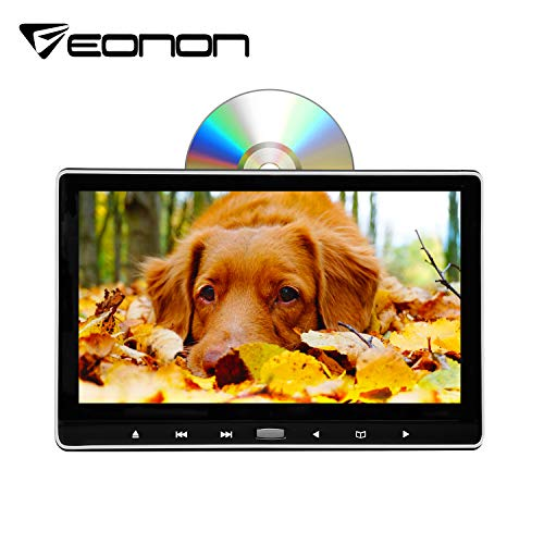 Eonon 2020 11.6 Inch 1080P HD Digital Multimedia Monitor Super-Thin Car Headrest DVD Player, Headrest Monitors with HDMI Port and Remote Control USB and SD-L0318