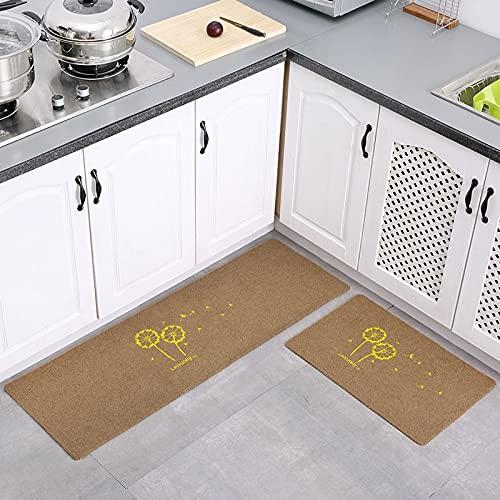 HLXX Alfombra de cocina más barata antideslizante moderna alfombra de sala de estar Balcón baño alfombra impresa felpudo pasillo baño alfombra A20 60 x 180 cm