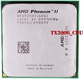 AMD Phenom II X4 920 HDX920XCJ4DGI Quad-Core 2.8GHz 6MB CPU Processor Socket AM2+ 940-pin 125W