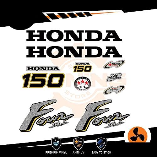 Generico Four Stroke - Kit de adhesivos para motor marino fuera de borda Honda 150 CV - Versión C
