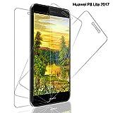 SNUNGPHIR [3pcs Cristal Templado Huawei P8 Lite 2017 Protector Pantalla Huawei P8 Lite 2017 Cristal Vidrio Templado Protector Pantalla [9H Dureza] [Alta Definicion] para Huawei P8 Lite 2017