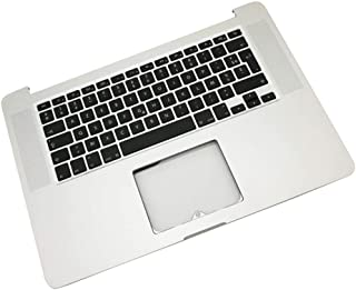 """KESOTO Replacement for Pro 15"""" A1398 Retina 15 Upper Palmrest Case+Keyboard"""