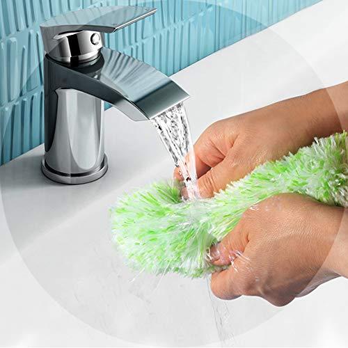 ホコリ取りブラシ伸縮掃除モップZHIWHISマイクロファイバー360°曲がるモップヘッド水洗いはたきダスターほこり取り家庭、ワードローブ、車、ラックに適用3点セット