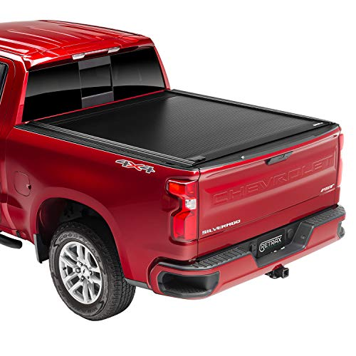 RetraxONE MX Retractable Truck Bed Tonneau Cover | 60481 | Fits 2019-2020 New Body Style Chevy Silverado & GMC Sierra 1500 (Not Compatable w/Carbon Pro Bed or Factory Side Storage Boxes) 5' 8' Bed