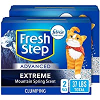 Fresh Step Advanced Clean Paws Clumping Cat Litter