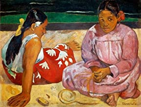 High Quality Polyster Canvas ,the Cheap But High Quality Art Decorative Art Decorative Prints On Canvas Of Oil Painting 'Paul Gauguin-Tahitian Women On The Beach,1891', 30x40 Inch / 76x101 Cm Is Best For Garage Artwork And Home Artwork And Gifts