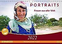 PORTRAITS - Frauen aus aller Welt (Wandkalender 2022 DIN A4 quer): Eindrucksvolle Fotografien von Frauen aus unterschiedlichen Kulturkreisen (Monatskalender, 14 Seiten )