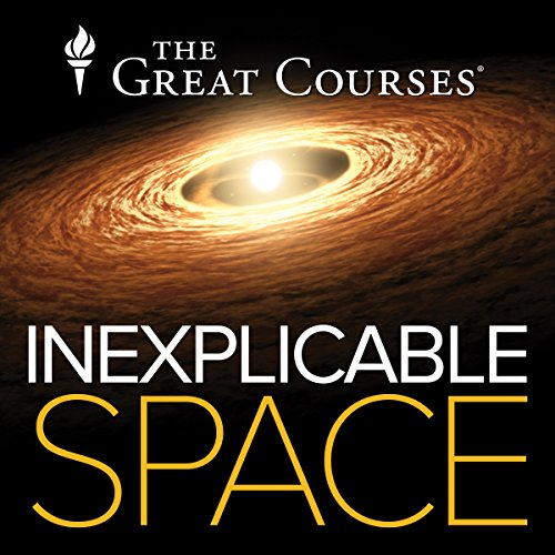 Inexplicable Space audiobook cover art