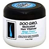 Doo Gro Hair Vitalizer Mega Thick Anti-Thinning Formula, 4 Ounce Pack of 5