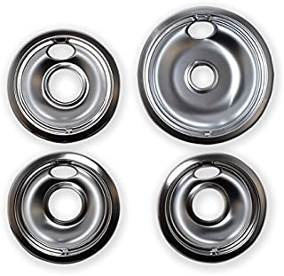 Vastu Aftermarket Replacement Drip Pans for Whirlpool Range - 1 Large 8