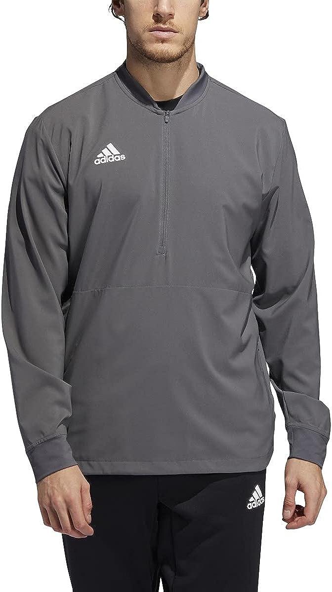 adidas Long Sleeve 1/4 Zip Top - Men's Casual