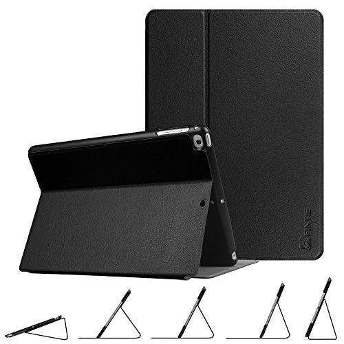 Fintie Multi-Winkel Hülle für iPad 9.7 Zoll 2018 2017 / iPad Air 2 / iPad Air - [SlimShell] Superleicht Folio Stand Schutzhülle Case mit Auto Schlaf/Wach Funktion, Schwarz