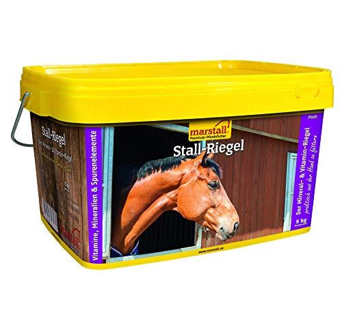 marstall Premium-Pferdefutter Stall-Riegel, 1er Pack (1 x 5 kilograms)