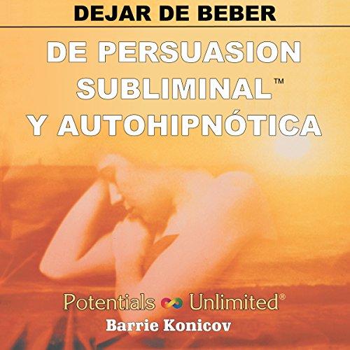 Dejar de Beber [Stop Drinking] audiobook cover art