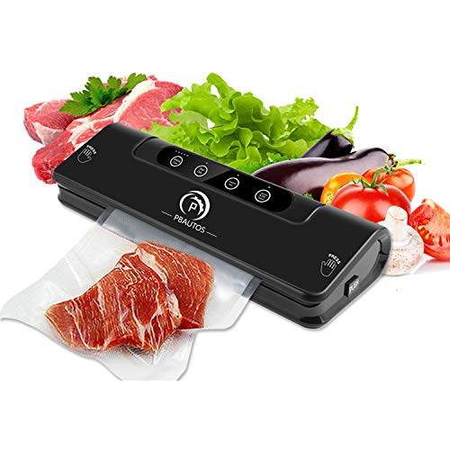 Automatic Vacuum Sealer Machine, One-Touch Vacuum Packing Machine for Food Sealing, Food...