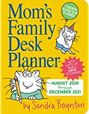 2021 Moms Family Desk Planner