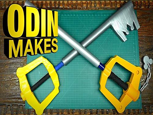 Odin Makes Boffer Keyblade From Kingdom Hearts