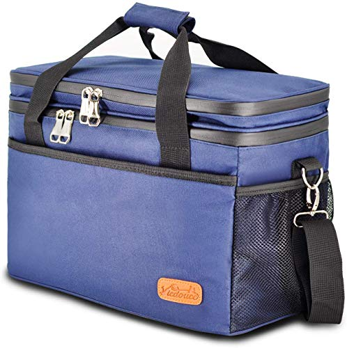 Why Should You Buy Viedouce Cooler Bags Insulated Large Picnic Basket for Hot Cold Food 18L