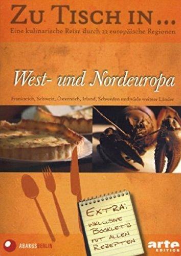 Zu Tisch in... West- und Nordeuropa (Box 2, 5 DVDs)