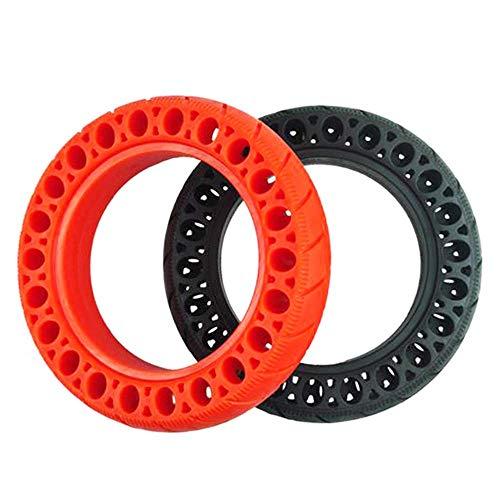 HZWDD Neumáticos sólidos en Forma de Panal de 8 1/2x2, Resistentes al Desgaste, Antideslizantes, sin Mantenimiento, adecuados para Scooter M365 1s/Pro, 2 Piezas