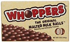 Whoppers Malted Milk Balls, 5-Ounce Box (Pack Of 6)