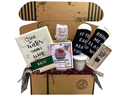 Wine Lovers Perfect Gift Basket