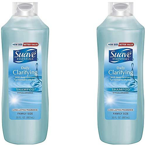 Suav Sh Ess Daily Clrfing Size 30z Suave Shampoo Essencial Daily Clarifying 30z, 2 pack