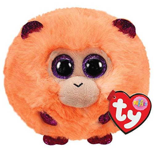TY 42514 Coconut Monkey Puffies AFFE Plüschtier, Mehrfarbig