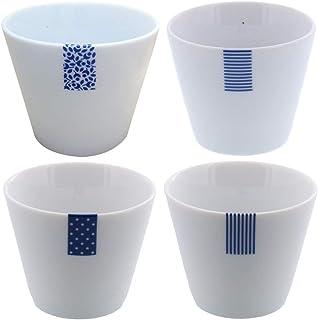 テーブルウェアイーストブルーラベル マルチカップ フリーカップ 食器セット(アウトレット) 4柄セット