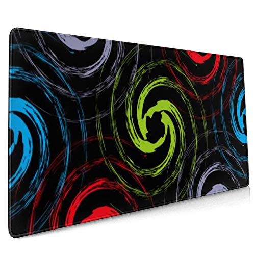 Extend Mouse Pad Color Abstract Quality Pattern 40 X 90 cm Gaming Mouse Mat Pad Smooth Surface for Computer and Desk