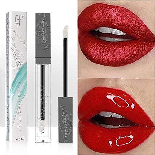 Feuchtigkeitsspendende klare Lipgloss transparente wasserdichte Lip Glaze anhaltende flüssige Lip Plumper Lipstick Tint Winter