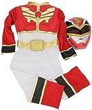 Rubies 3886669 - Costume da Power Ranger Rosso per bambini, S