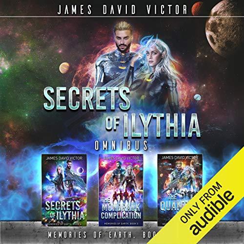 Secrets of Ilythia Omnibus cover art