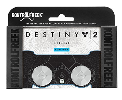 KontrolFreek Destiny 2: Ghost for PlayStation 4 (PS4) Controller   Performance Thumbsticks   2 Mid-Rise   White