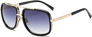Women Men Fashion Quadrate Metal Frame Sunglasses Brand Classic Sunglasses
