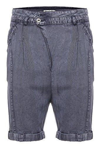khujo Damen Shorts, Farbe:Washed Denim;Größe:33