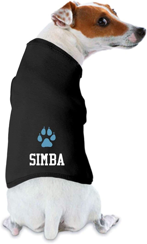 FUNNYSHIRTS.ORG Simba Likes His Shirt  Dog Tank Top