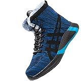 Zapatos de Seguridad de Acero,Seguridad para Hombre con Puntera de Acero Zapatillas de Seguridad Trabajo, Calzado de Industrial y Deportiva,Blue Plus Velvet▁49