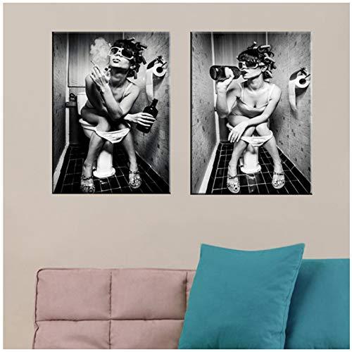 Imágenes de arte de pared, impresión, negro, blanco, sexy,