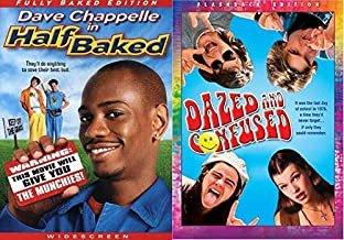 Keep Off The Grass Kids... Dazed and Confused (Flashback Edition) & Half Baked (Fully Baked Edition) 2-DVD Double Feature Bundle