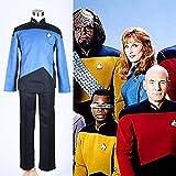 img_スタートレック TNG ユニフォーム一式 青色 コスプレ衣装 オーダー自由 ディズニークリスマス、ハ