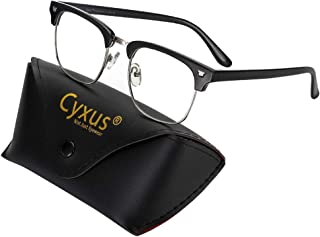 Cyxus Blauw Licht Filter Computer Bril voor Blokkeren UV Hoofdpijn [Anti Oog Vermoeidheid] Vintage brillen, Unisex(Mannen/...