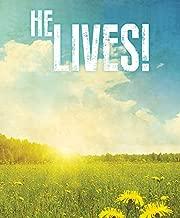 He Lives! Images Easter Bulletin, Large (Pkg of 50)