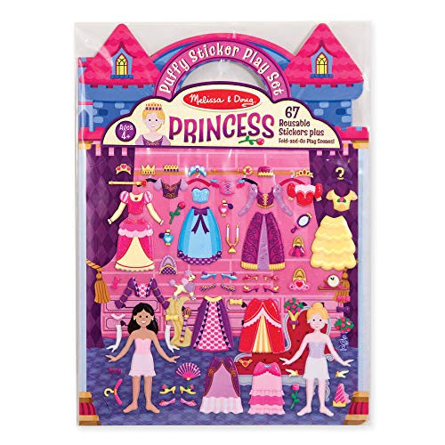 Puffy Sticker Play Set - Princess: Activity Books - Coloring/Painting/Stickers