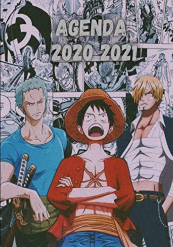 Agenda Manga 2020 2021: Agenda One pièce calendrier 2021...
